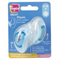 2 Sucettes physiologiques SMART 6-18m TIGEX