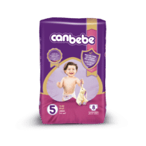 Canbebe Couches JUNIOR Standard, Taille 5, 11-20 Kg, 8 pièces