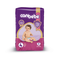 Canbebe Couches MAXI Standard, Taille 4, 7-17 Kg, 9 pièces