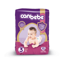 Canbebe Couches MIDI Standard, Taille 3, 4-9 Kg, 10 pièces