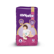 Canbebe Couches XL Standard, Taille 6, 14-25 Kg, 10 pièces